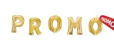 Litere  aurii 100 cm PROMO!