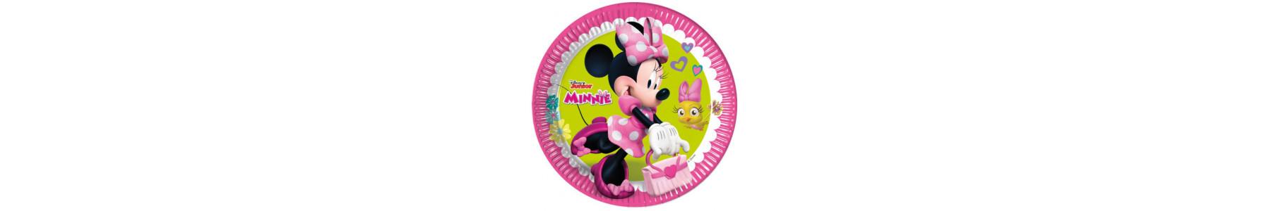 Articole de petrecere compostabile gama Minnie Unicorn Dreams
