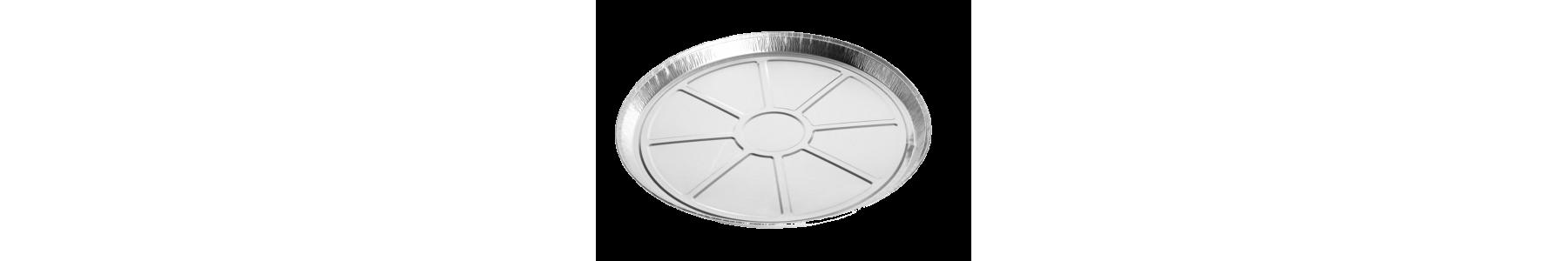 Caserole rotunde din aluminiu