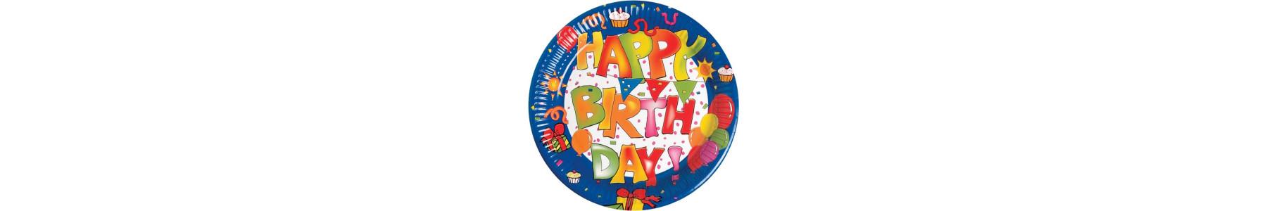 Colectia articole party Happy Birthday Kokliko